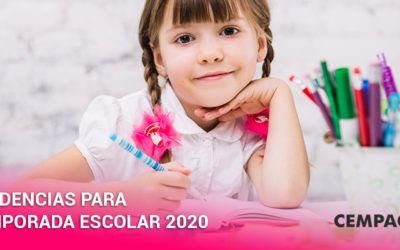 Tendencias para temporada escolar 2020.