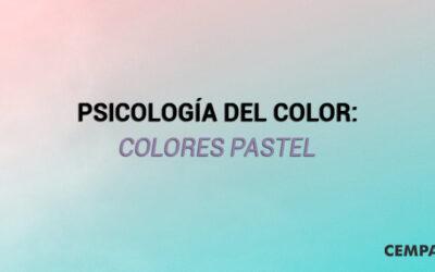 Psicología del color: Colores Pastel