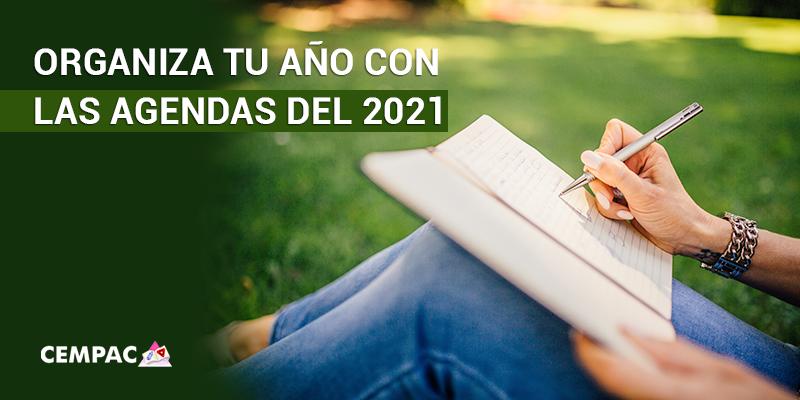 Organiza tu año con las agendas del 2021