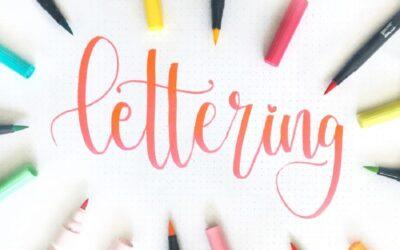 3 formas sencillas de mejorar tu técnica de Lettering