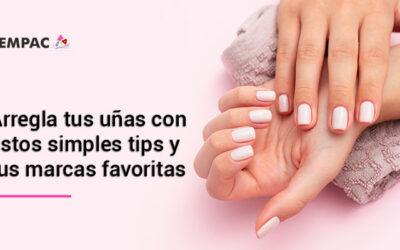 Arregla tus uñas con estos simples tips y tus marcas favoritas